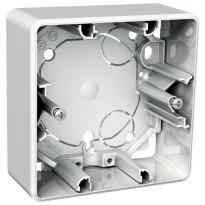 Pinta-asennusrasia 1-osainen 35 mm valkoinen Exxact