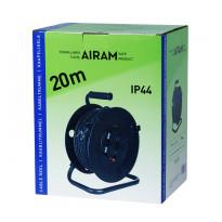 Jatkojohtokela Airam - 20m H07RN-F 3x1,5mm2 IP44