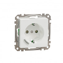 Älypistorasia Schneider Electric, Exxact, 1-osainen, UPJ Zigbee, valkoinen