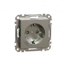 Älypistorasia Schneider Electric, Exxact, 1-osainen, UPJ Zigbee, metalli