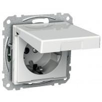 Pistorasia kannellinen 1-osainen 0X UKJ 0X valkoinen Exxact