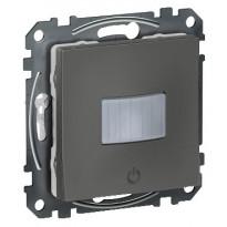 Liiketunnistin+LED-säädin Schneider Electric, Exxact, PIR 160 100W Zigbee, antrasiitti