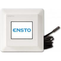 Yhdistelmätermostaatti Ensto Eco 16 Touch, 16A, IP21, valkoinen