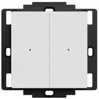 Langaton painike Schneider Electric Exxact, Wiser Zigbee, 2-osainen valkoinen