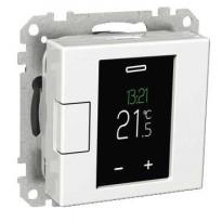 Termostaatti Schneider Electric WTH16 16A USE IP20 VAL,  viikko-ohjelmoitava, valkoinen, Exxact