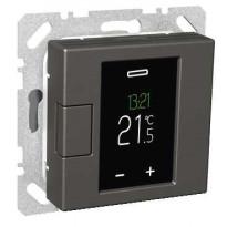 Termostaatti Schneider Electric WTH16 16A USE IP20 VAL, viikko-ohjelmoitava, antrasiitti, Exxact