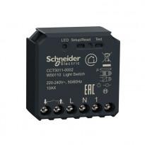 Kytkinmoduuli Schneider Electric, Wiser Zigbee 10AX, kojerasiaan