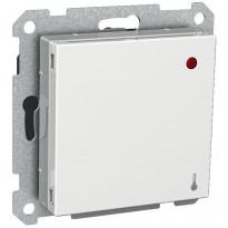 Huonetermostaatti 5-30C 10A 230V UKR valkoinen Exxact