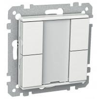 Painike KNX 4-osainen P 4 T USE UK valkoinen Exxact