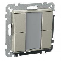 Painike KNX 4-osainen P 4 T USE UK metalli Exxact
