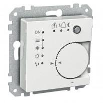 Termostaatti KNX UK valkoinen Exxact