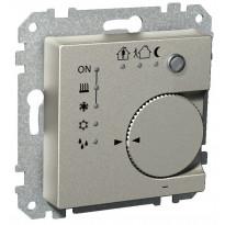 Termostaatti KNX UK metalli Exxact