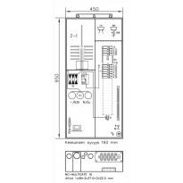 Mittauskeskus UTU Collie, 3806P63 2T+PR+Y 2T, IP34