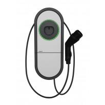 Sähköauton latauslaite Ensto One Home EVH321-HCR00 RCBO IP54 1X32A T2 kiinteällä 5m kaapelilla