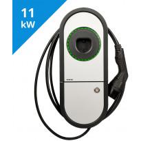 Sähköauton latauslaite Ensto One Home EVH163-HCR00 RCBO, IP54, 3X16A, T2, kiinteällä 5m kaapelilla