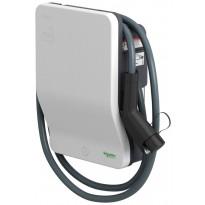 Sähköauton latauslaite Schneider Electric EVlink Wallbox 3,7kW T1 kiinteällä 4m kaapelilla, avainlukitus