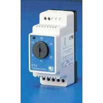 Lattiatermostaatti DIN-kiskoasennukseen ETV-1991