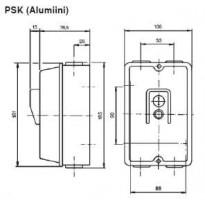 Metallikotelo Katko PSK 16