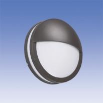 Seinävalaisin LED Lumia AVN260LGHLED, Ø260x102mm, luomella, grafiitinharmaa