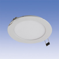 LED-paneeli Velox ALSD180PU 11W/840 LED VA, Ø180mm, valkoinen