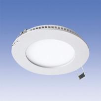 LED-paneeli Velox ALSD117PU 8W/840 LED VA, Ø117mm, valkoinen
