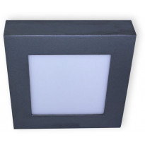 LED-paneeli Ensto Velox ALSD168HNP, IP20, 14W/830/840, 168x168x39mm, harmaa
