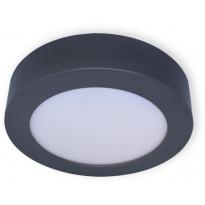LED-paneeli Ensto Velox ALSD180HPP, IP20, 11W/830/840, Ø180x39mm, harmaa