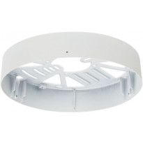 Pinta-asennuskehys Ensto Velox Deco ALDD240PU, Ø240mm, valkoinen