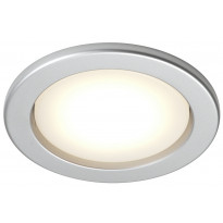 LED-alasvalo Airam Planex, 5W/828, GX53, Ø104x39mm, IP23, hopea