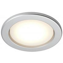 Alasvalo LED Planex LED 5W, GX53 2800K Ø 104x39mm, hopea