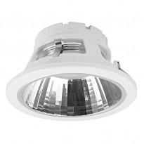 Alasvalo Conxento 13W, GX53 Ø 132x65mm, valkoinen ilman lamppua