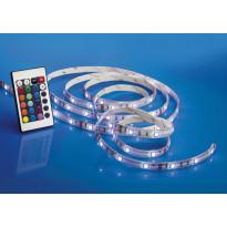 LED-nauha Airam LED Strip RGB 2 10x3000mm, 420 lm/m + virtalähde + himmennin