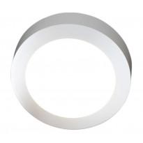 LED-yleisvalaisin Ronda 15W, 4000K, 1050lm, Ø240x35mm, valkoinen