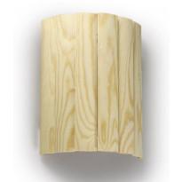 Häikäisysuoja Ensto, AVL6, 330x260x122mm, AVH15-saunavalaisimille, seinäasennettava, mänty