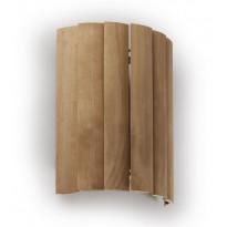 Häikäisysuoja Ensto, AVL6.1, 330x260x122mm, AVH15-saunavalaisimille, seinäasennettava, haapa