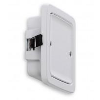 LED-seinävalaisin Ensto, AVD5.13L, 1x3W, 46x140x140mm, IP64, valkoinen