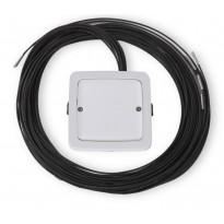 LED-valokuituvalaisin Ensto, AVD5.13L/6.1, 1x3W, 6 valokuitua, IP64, valkoinen