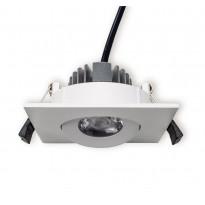 LED-alasvalo Ensto Velox, ALS90NS/3K, 4W/830, 90x90x41mm, IP20, valkoinen