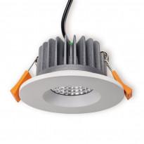 LED-alasvalo Ensto Velox, ALS90WRD/3K, 9W/830, Ø90x47mm, IP44, valkoinen