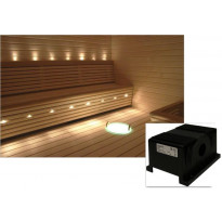 Saunavalaistussarja Cariitti, VPAC-1527-L114, 5-10 m² + LED-projektori + 11 valokuitua