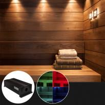 LED-valokuituprojektori Cariitti VPL30C-RF värinvaihdolla