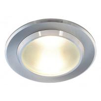 LED-alasvalo Smart 10W, 3000K, 600lm, IP44, Ø150x73mm, alumiini
