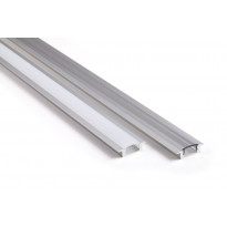 Asennusprofiili Airam Slimline 7 R Apus II LED-nauhalle, uppoasennus, kirkas, 1m