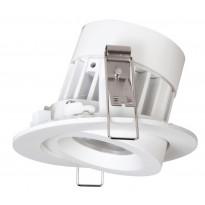 LED-alasvalo Siena 8W, 2800K, 36° DIM, 500lm, Ø80x55mm, valkoinen, suunnattava