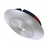 LED-alasvalo Osram LEDVALUX Downlight S 830 alumiini