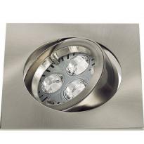 LED-alasvalo Osram KIT LED PRO CARRÉ 1x4.5 W harjattu nikkeli
