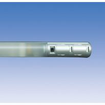 Kylpyhuonevalaisin Alisa ALH14215 T8 15W, 661mm, 2-osainen, pistorasia + kytkin, harmaa