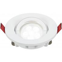 LED-alasvalo Lumiance Inset Trend S Wing 36°, himmennettävä, IP44, GU10, valkoinen