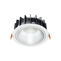 LED-alasvalo Osram LEDVALUX Downlight L 830, valkoinen