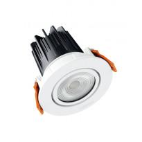 LED-alasvalo Osram LEDVALUX Downlight M 830, valkoinen